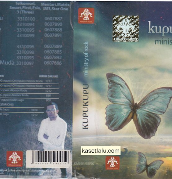 KUPU KUPU - MINISTRY OF ROCK