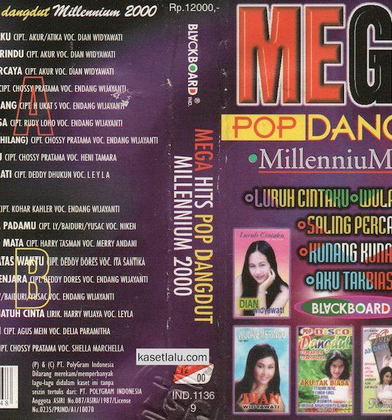 MEGA HITS POP DANGDUT MILLENIUM 2000