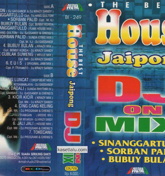 THE BEST HOUSE JAIPONG DJ ON MIX