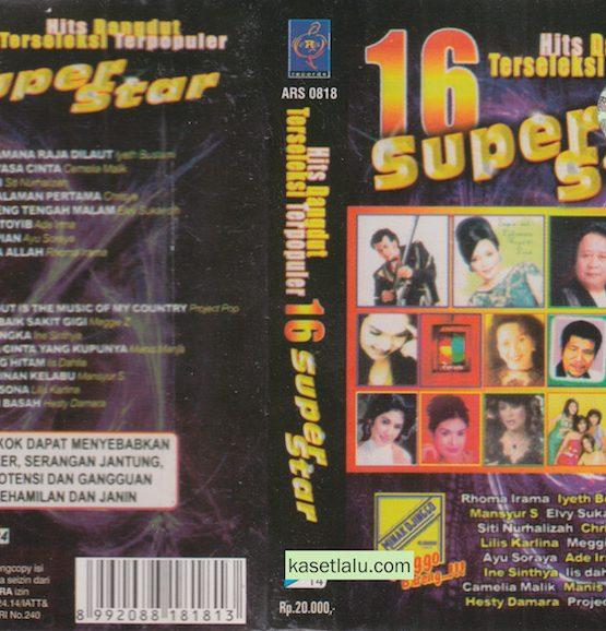 16 SUPER STAR HITS DANGDUT TERSELEKSI TERPOPULER