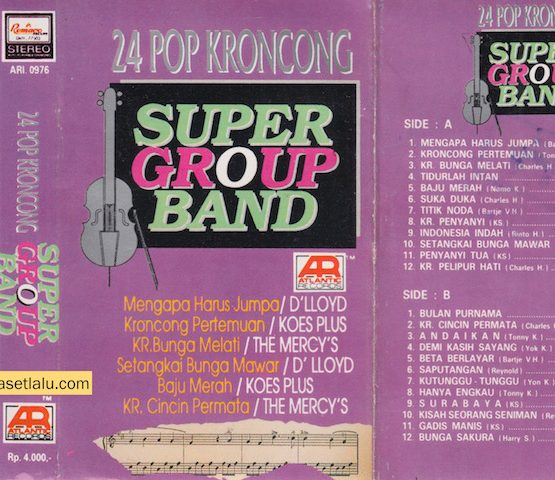 24 POP KRONCONG SUPER GROUP BAND