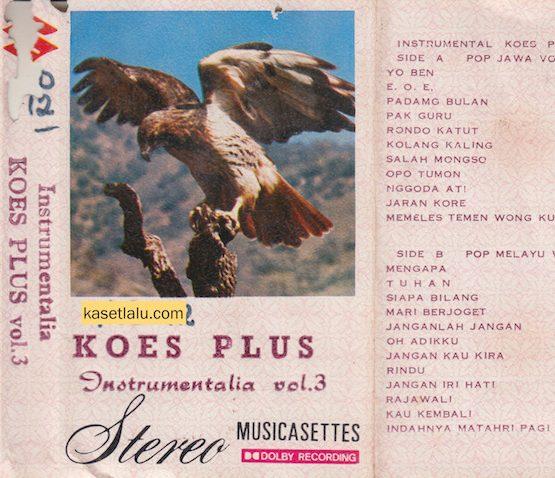 KOES PLUS - INSTRUMENTALIA VOL. 3 (BOOTLEG)