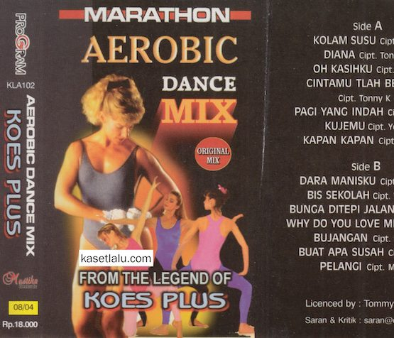MARATHON AEROBIC DANCE MIX FROM THE LEGEND OF KOES PLUS
