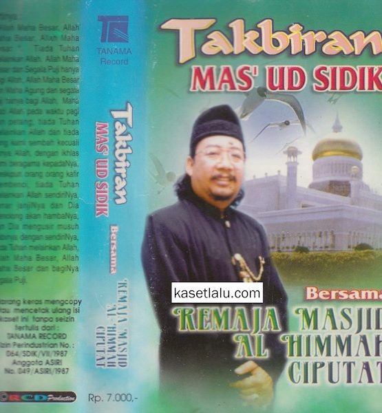 MAS UD SIDIK - TAKBIRAN