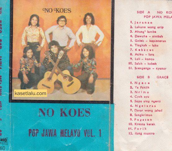 NO KOES - POP JAWA MELAYU VOL. 1 (BOOTLEG)