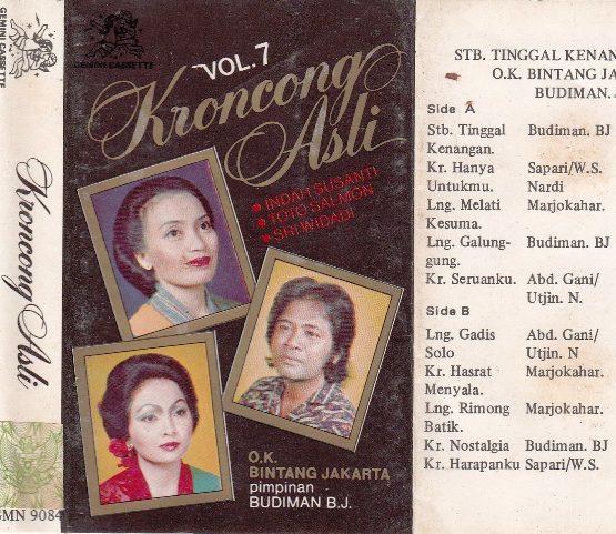 OK Bintang Jakarta - Kroncong Asli Vol.7