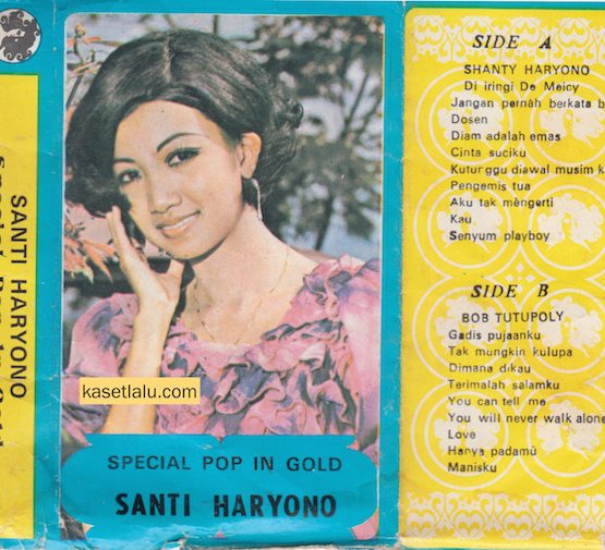 SANTI HARYONO - SPECIAL POP IN GOLD
