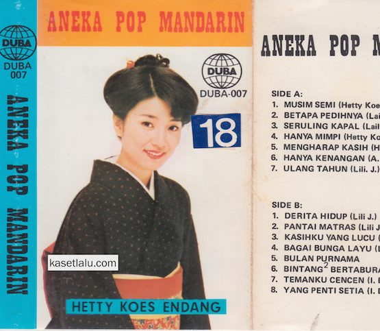 ANEKA POP MANDARIN (HETTY KOES ENDANG)