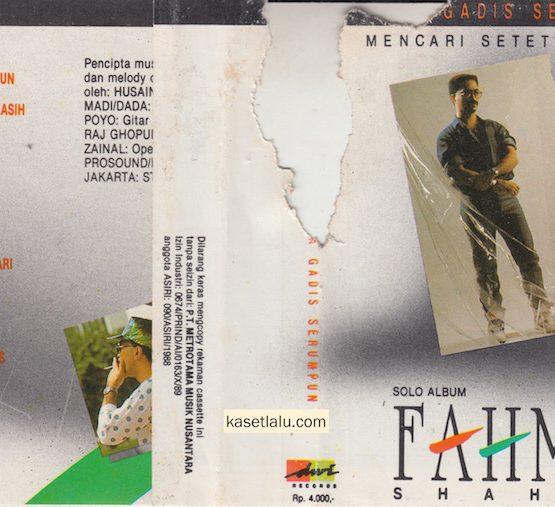 FAHMY SHAHAB - MENCARI SETETES KASIH