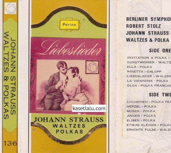 136 - PERINA GOLDEN CLASSIC - JOHANN STRAUSS WALTZES & POLKAS