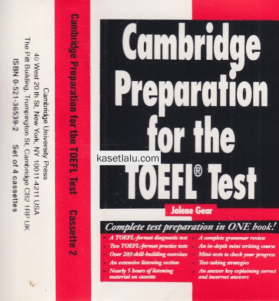 CMBRIDGE PREPARATION FOR THE TOEFL TEST