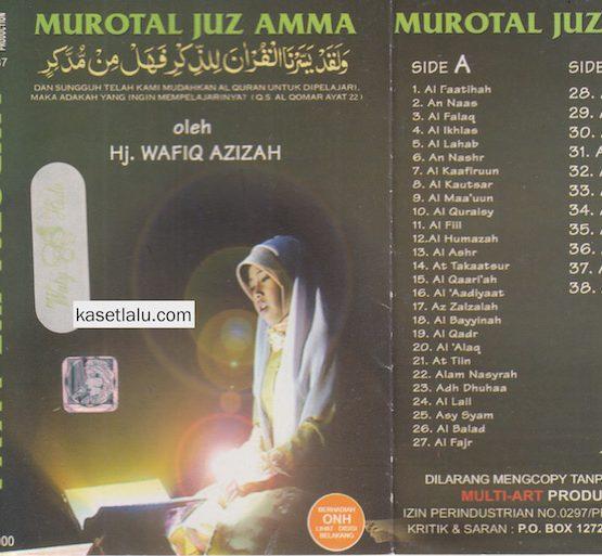HJ. WAFIQ AZIZAH - MUROTAL JUZ AMMA