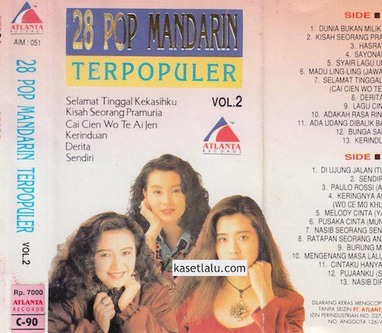 28 POP MANDARIN TERPOPULER VOL. 2