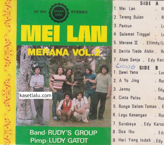 RUDY'S GROUP PIMP. LUDY GATOT - MEI LAN - MERANA VOL. 2