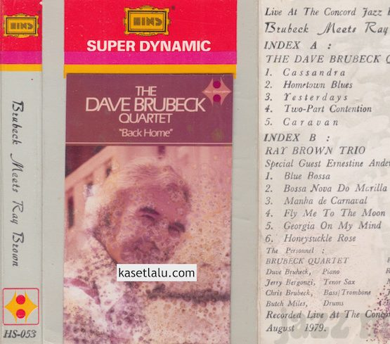 THE DAVE BRUBECK QUARTET - BACK HOME