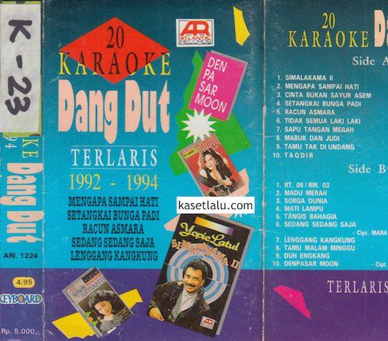20 KARAOKE DANGDUT TERLARIS 1992 - 1994