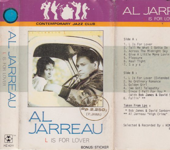 AL JARREAU - L IS FOR LOVER (CONTEMPORARY JAZZ CLUB)