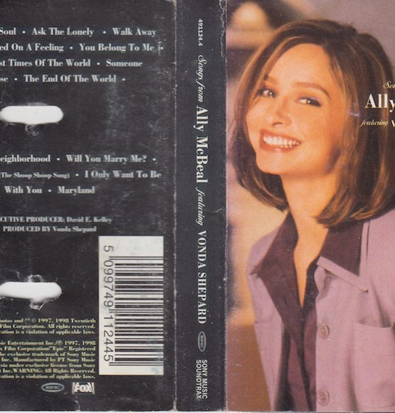 ALLY MC BEAL FEATURING VONDA SHEPARD - OMPS SONGS FROM ALLY McBEAL