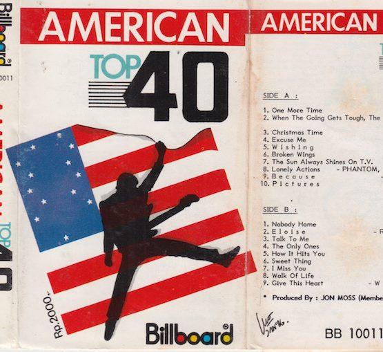 AMERICAN TOP 40 BILLBOARD
