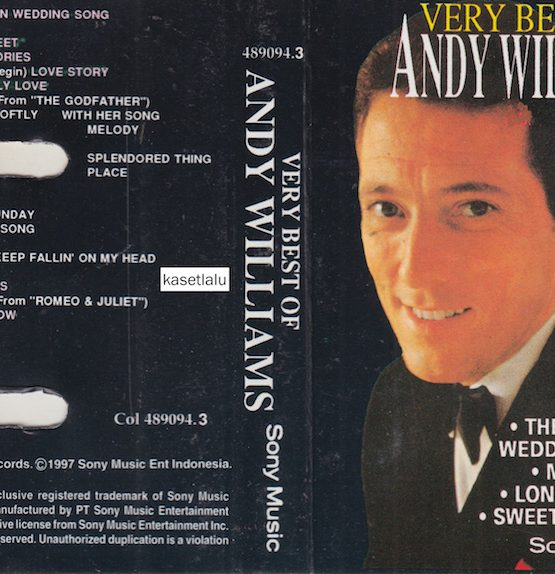 ANDY WILLIAMS - VERY BEST OF