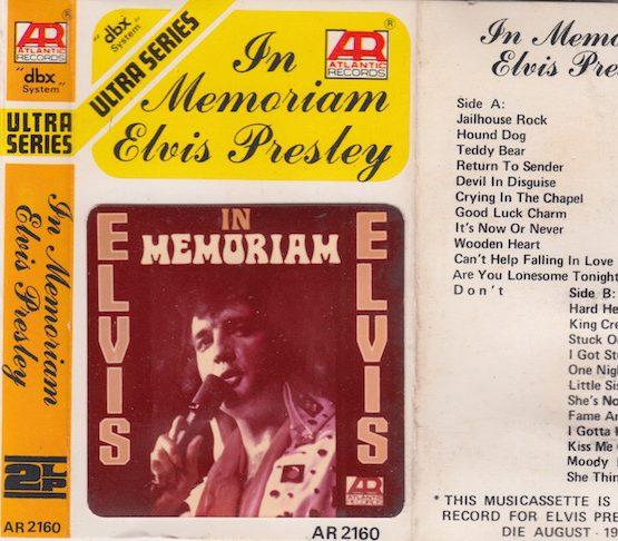 AR 2160 - IN MEMORIAM ELVIS PRESLEY