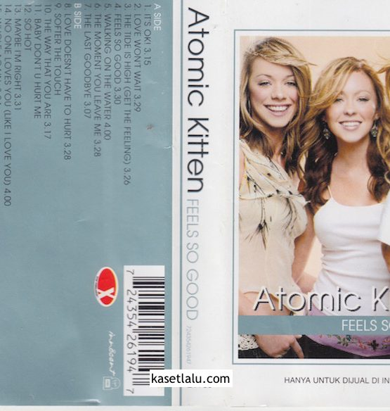 ATOMIC KITTEN - FEELS SO GOOG