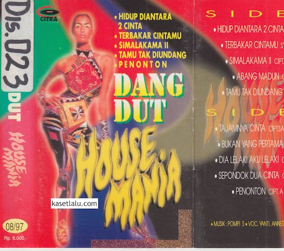 DANGDUT HOUSE MANIA - HIDUP DIANTARA 2 CINTA