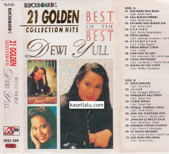 DEWI YULL - 21 GOLDEN COLLECTION HITS