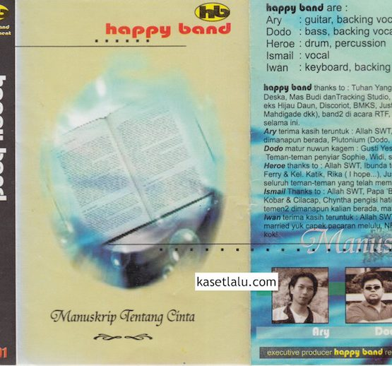 HAPPY BAND - MANUSKRIP TENTANG CINTA