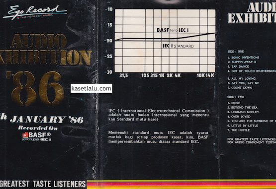 AUDIO EXHIBITION '86 - 5TH JANUARY '86
