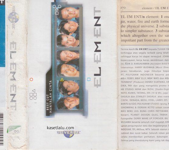 ELEMENT - HANYALAH CINTA