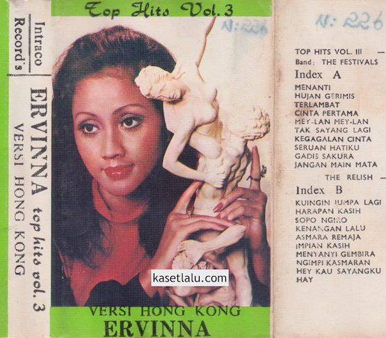 ERVINNA - TOP HITS VOL. 3 VERSI HONGKONG