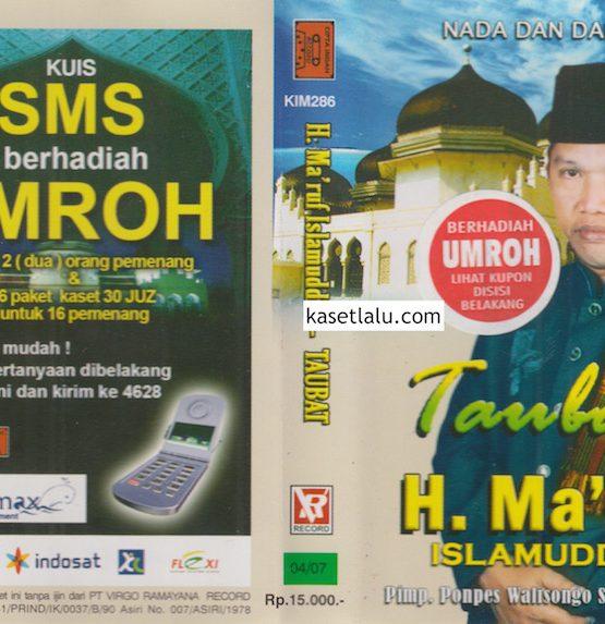 H. MA'RUF ISLAMUDDIN - TAUBAT