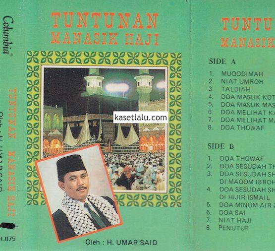 H. UMAR SAID - TUNTUNAN MANASIK HAJI (COVER HIJAU)
