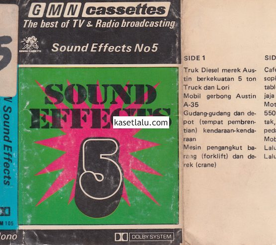 SOUND EFFECTS NO. 5