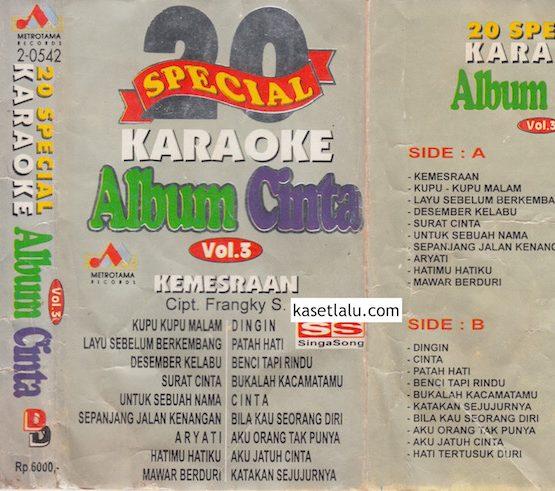 20 SPECIAL KARAOKE ALBUM CINTA VOL. 3 - KEMESRAAN