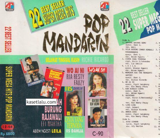 22 BEST SELLER SUPER MEGA HITS POP MANDARIN