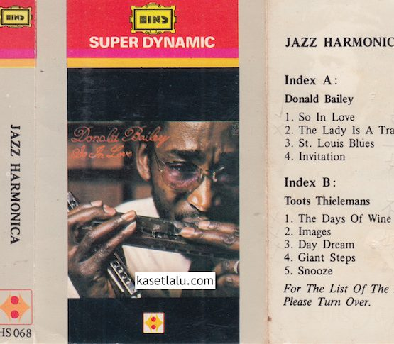 HINS HS 068 - JAZZ HARMONICA (DONALD BALLEY & TOOTS THIELEMANS)