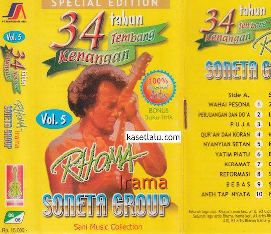RHOMA IRAMA - 34 TAHUN TEMBANG KENANGAN VOL. 5