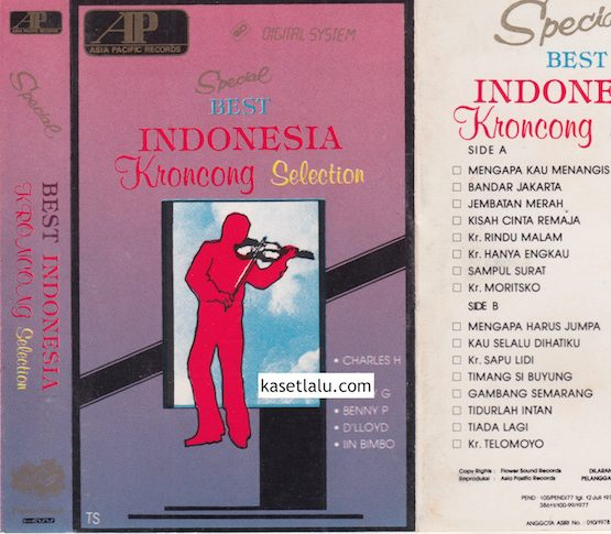 SPECIAL BEST INDONESIA KRONCONG SELECTION