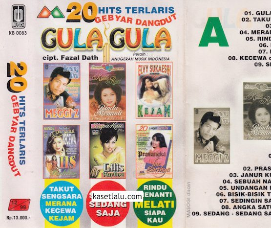 20 HITS TERLARIS GEBYAR DANGDUT - GULA GULA