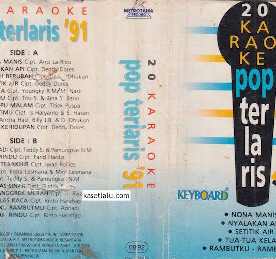 20 KARAOKE POP TERLARIS '91