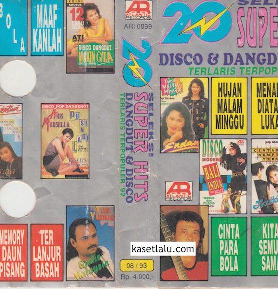 20 SUPER HITS DISCO & DANGDUT TERLARIS TERPOPULER '92