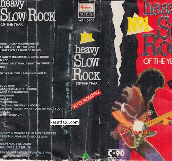HEAVY SLOW ROCK OF THE YEAR - VERSI INDONESIA