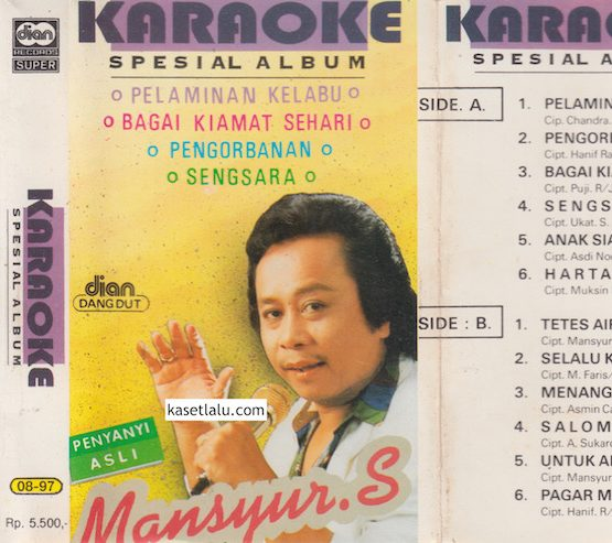 MANSYUR S - KARAOKE SPESIAL ALBUM - PELAMINAN KELABU