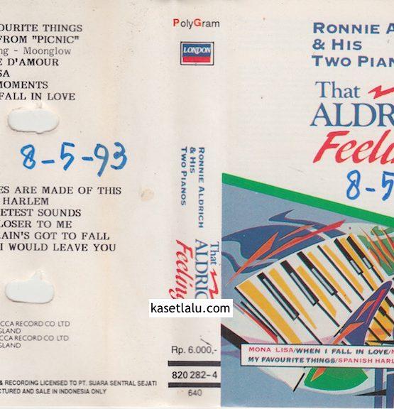 RONNIE ALDRICH & HIS TWO PIANOS - THAT ALDRICH FEELING