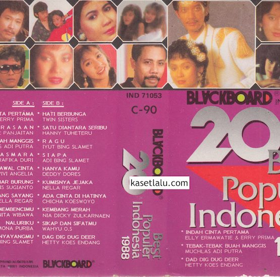 20 BEST POPULER INDONESIA 1988