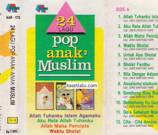 24 LAGU POP ANAK2 MUSLIM