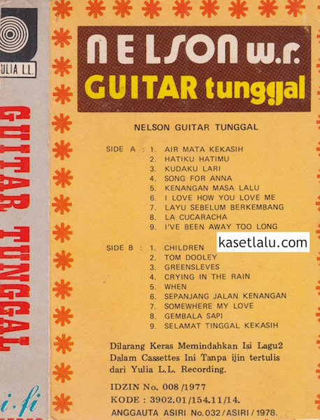 NELSON W.R - GUITAR TUNGGAL