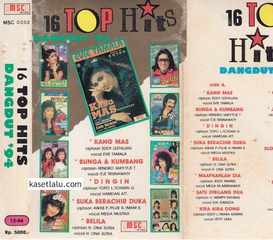 16 TOP HITS DANGDUT '94